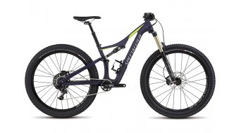 Specialized Rhyme FSR Comp Carbon 6Fattie 650B+ / 27.5+ MTB Komplettbike Damen-Rad satin deep indigo/hyper green/cool grey Mod. 2017