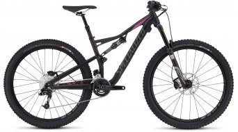 Specialized Rhyme FSR Comp 650B / 27.5 MTB Komplettbike Damen-Rad Gr. M satin black/bright pink Mod. 2017