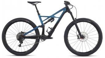 Specialized Enduro FSR Elite Carbon 29 / 650B+ MTB Komplettbike black/marine blue/rocket red Mod. 2017