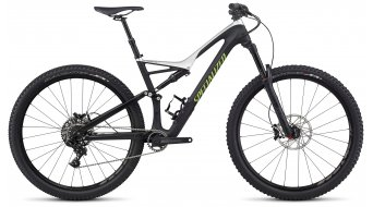 Specialized Stumpjumper FSR Comp Carbon 29 MTB Komplettbike tarmac black/light silver/monster green Mod. 2017