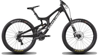 Santa Cruz V10 6.0 C 27.5 bici completa negro/blanco DH-S-equipamiento Mod. 2017