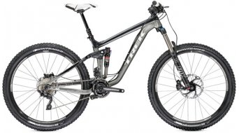 "Trek Slash 8 E 650B bike size 47cm (18.5"") charcoal/black titanium ite 2014"