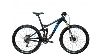 Trek Fuel EX 7 650B/27.5 MTB bike black titanium ite/Trek cyan 2015