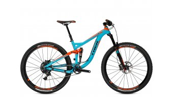 Trek Remedy 9 29 29 MTB bici completa mis. 44,5cm (17.5) nysa blue/rhymes with orange Mod. 2015