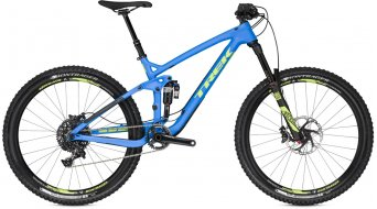 Trek Slash 9.8 650B / 27.5 MTB Komplettbike Gr. 44.5cm (17.5) matte waterloo blue Mod. 2016