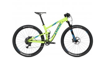 Trek Top Fuel 9 29 MTB bici completa . volt green mod. 2016