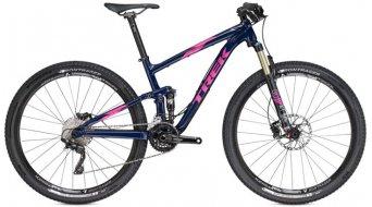 Trek Top Fuel 8 WSD 29MTB bici completa Señoras-rueda tamaño 47cm (18.5) navy Mod. 2016