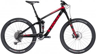 Trek Remedy 9.9 Race Shop Limited 650B / 27.5 MTB Komplettrad trek black/viper red Mod. 2017