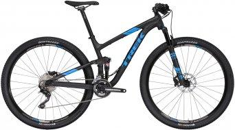 Trek Top Fuel 8 29 MTB bici completa . matte trek black mod. 2017