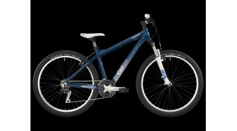 Bergamont Kiez Fun bike dark blue-violet/cyan/purple matt 2013