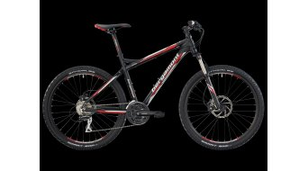 Bergamont Vitox 7.3 bike black-white/red matt 2013