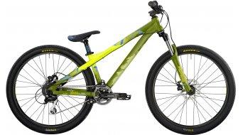 "Bergamont Kiez 040 8-speed 26"" bike size M neon yellow/olive/cyan (matt) 2014"