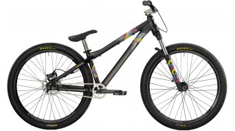 "Bergamont Kiez Dirt 26"" bike black/cyan/magenta/yellow (matt) 2014"