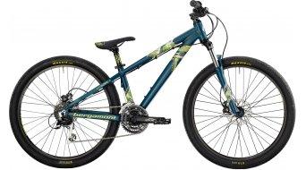 "Bergamont Kiez Flow 26"" bike petrol/neon yellow/neon green (matt) 2014"