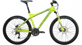 "Bergamont Vitox 7.4 C2 26"" bike lime/cyan/grey (matt) 2014"