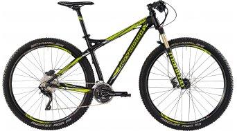 Bergamont Revox LTD Alloy 29 MTB bike mens version black matt/green/white shiny 2015