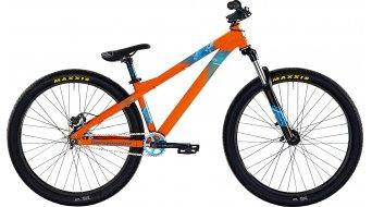 Bergamont Kiez 040 single-speed 26 MTB bike mens version orange/blue/cyan shiny 2015