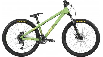 Bergamont Kiez 040 8-Speed 26 MTB bici completa . mint/neon yellow mod. 2016