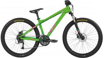 "Bergamont Kiez Flow 26"" VTT vélo hommes-roue taille neon green/rose Mod. 2016"