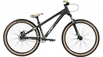 Bergamont Kiez 040 Single Speed 26 MTB Komplettbike Herren-Rad raven black/mint/grey Mod. 2016