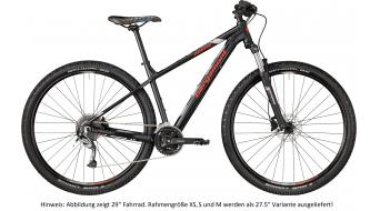 "Bergamont Revox 4.0 650B/27.5"" MTB(山地) 整车 型号 M black/silver/red (matt) 款型 2018"