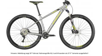 "Bergamont Revox 7.0 650B/27.5"" MTB(山地) 整车 型号 silver/black/青柠色 (matt) 款型 2018"