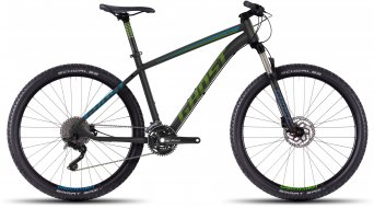 Ghost Kato 5 650B/27,5 MTB bici completa . black/green/blue mod. 2016