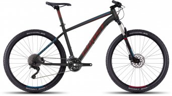Ghost Kato 7 650B/27,5 MTB bici completa tamaño S negro/rojo/azul Mod. 2016
