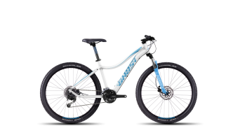 Ghost Lanao 3 650B/27,5 MTB bici completa mis. S white/blue/lightblue mod. 2016