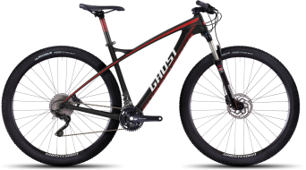 "Ghost HTX EBS 1 LC 29"" MTB komplett kerékpár black/red/white/darkred 2016 Modell"