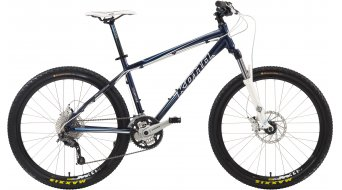 KONA Cinder Cone bike dark blue/white/blue 2012