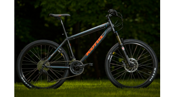 KONA Muni Mula bike black/orange/blueMod. 2014