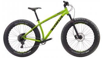 KONA WoZo 26 Fat bike bike matt green 2017