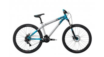 NS Bikes Clash 2 bike silver- blue 2014