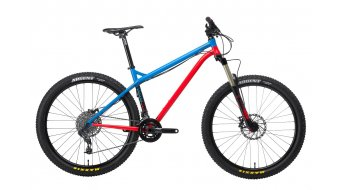 NS Bikes Eccentric bike blue- red 2014