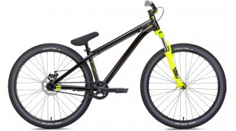 NS Bikes Zircus bike unisize black/yellow 2017