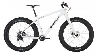 Salsa Beargrease carbon 26 Fat bike bike size XL arctic white 2015