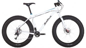 Salsa Mukluk 3 26 Fat bike bici completa . arctic white mod. 2015
