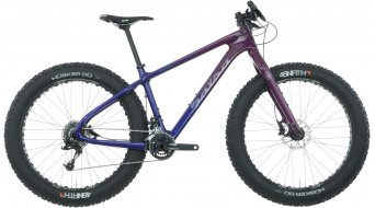 Salsa Beargrease carbon X7 26 fatbike fiets purple/blue model 2017