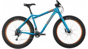 Salsa Mukluk X7 Fat bike bici completa . blue mod. 2016