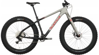 Salsa Beargrease carbon NX1 26 Fat bike bike raw carbon/gray fade 2017