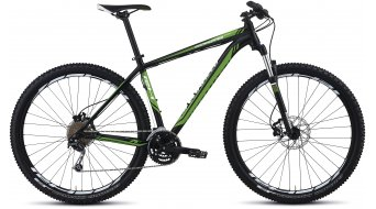 Specialized Rockhopper Comp Komplettbike Gr. 44,5cm (17,5) black/green/white Mod. 2013
