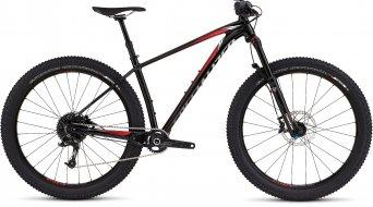 Specialized Fuse HT Expert 6Fattie 650B+ / 27.5+ MTB Komplettbike Gr. M gloss black/red/white Mod. 2016 - TESTBIKE