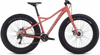 Specialized Hellga 26 Fatbike Komplettbike Damen-Rad gloss coral/deep fuschia/light turquiose Mod. 2017