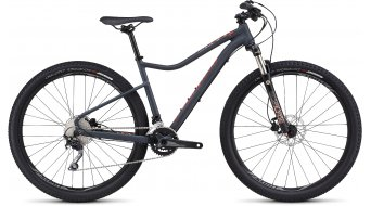 Specialized Jynx Expert 650B / 27.5 MTB Komplettbike Damen-Rad satin carbon grey/nordic red/coral Mod. 2016