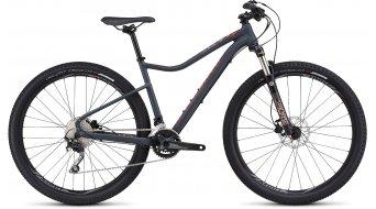 Specialized Jynx Expert 650B / 27.5 MTB Komplettbike Damen-Rad satin carbon grey/nordic red/coral Mod. 2016