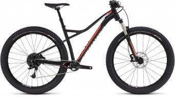 Specialized Ruze Comp 6Fattie 650B+ / 27.5+ MTB Komplettbike Damen-Rad satin black/coral/white Mod. 2016