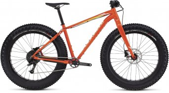 Specialized Fatboy Comp 26 Fatbike Komplettbike gloss moto orange/white/orange fade Mod. 2016