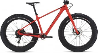 Specialized Fatboy Comp Carbon 26 Fatbike Komplettbike gloss rocket red/black/grey fade Mod. 2017