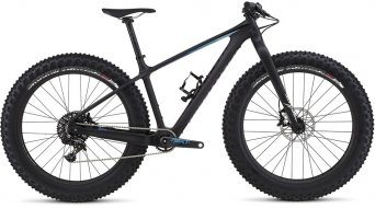 Specialized Fatboy Expert Carbon 26 Fatbike Komplettbike satin carbon/black/blue fade Mod. 2016